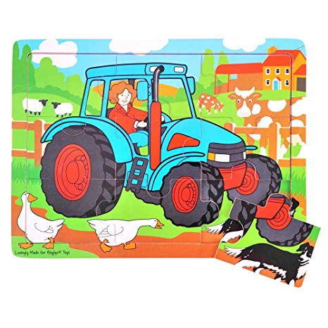 Big Jigs | Puzzel | Tractor